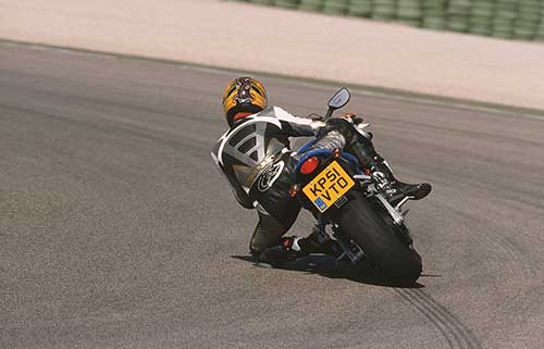 Erik Tanghe on the Almeria Racetrack